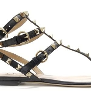 Valentino Garavani Rockstud Sandals 38 EU